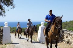 Enjoy an adventure riding in the Camí de Cavalls